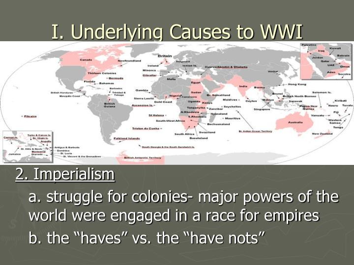 I underlying causes to wwi1