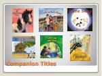 companion titles