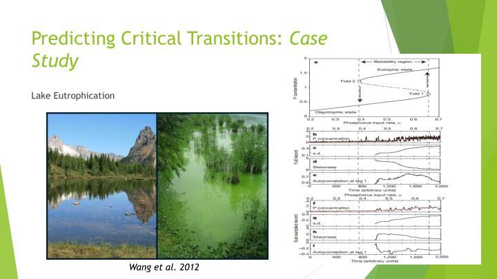 Predicting Critical Transitions: