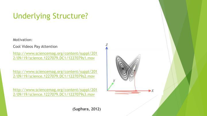 Underlying Structure?