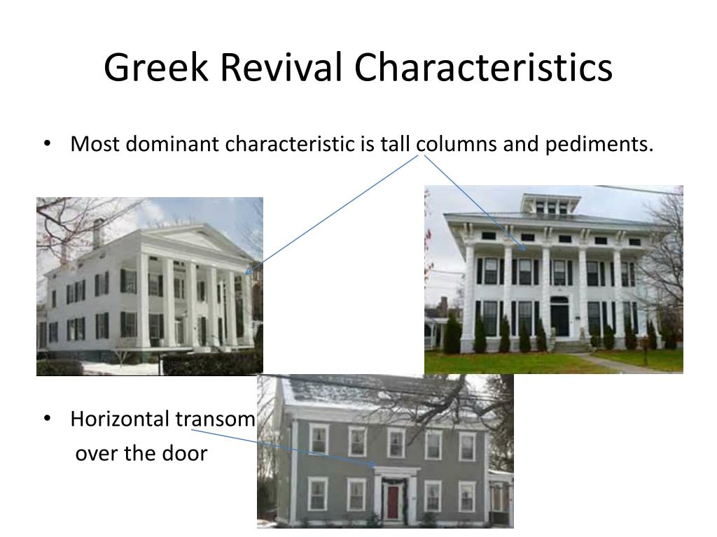 PPT - Greek Revival PowerPoint Presentation, free download ...