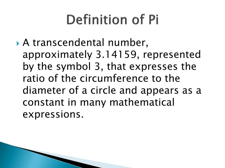 Ppt Facts On Pi Powerpoint Presentation Id2484781