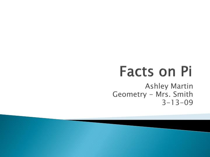 facts on pi n.