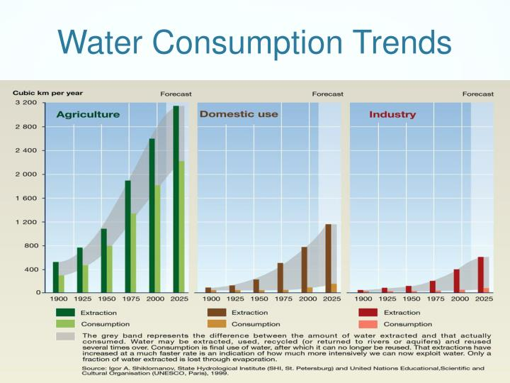 Water Consumption Trends