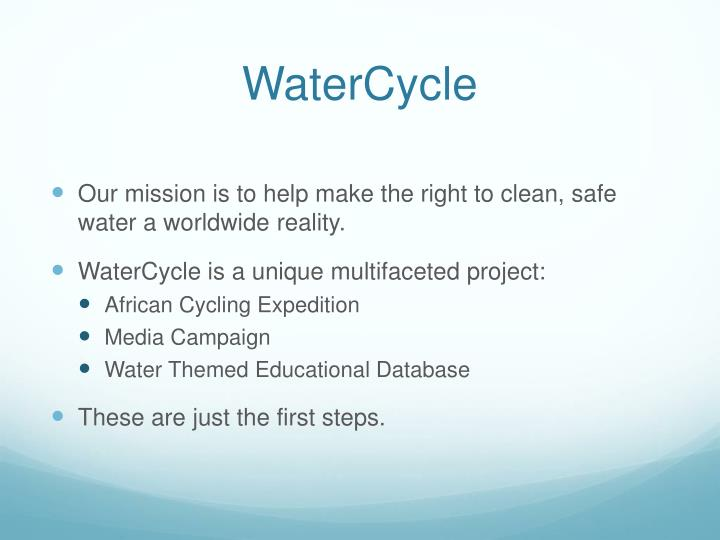 WaterCycle