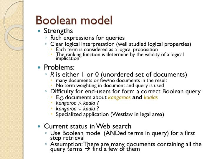 Boolean model