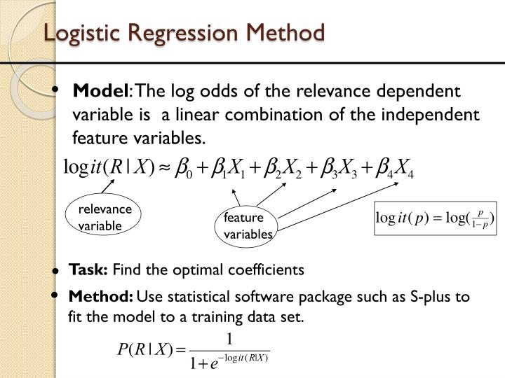 Logistic Regression Method