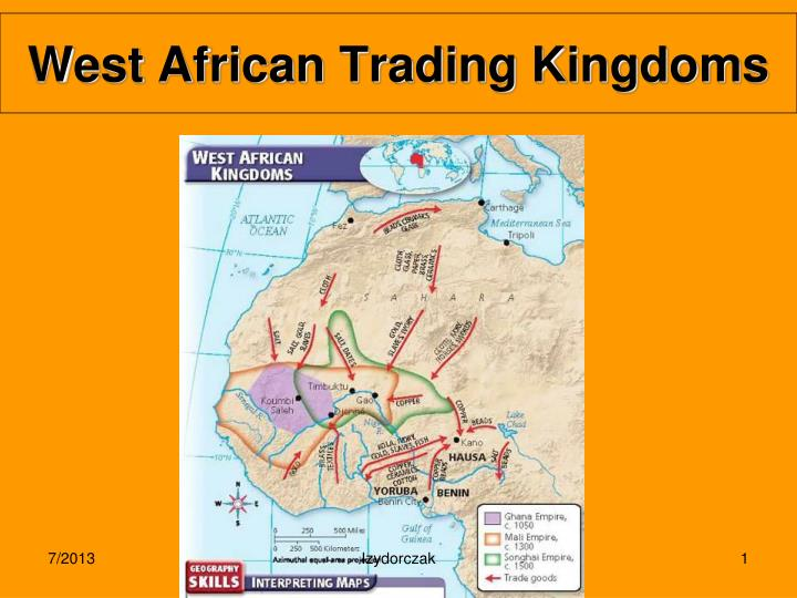 west african trading kingdoms n.