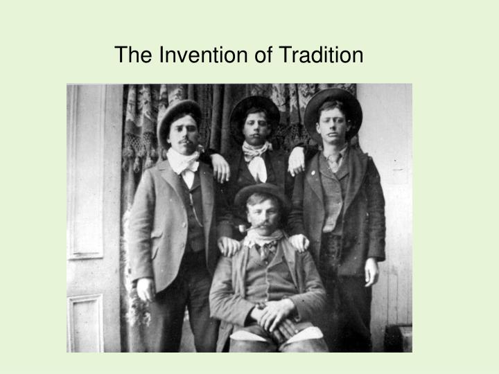 the invention of tradition n.
