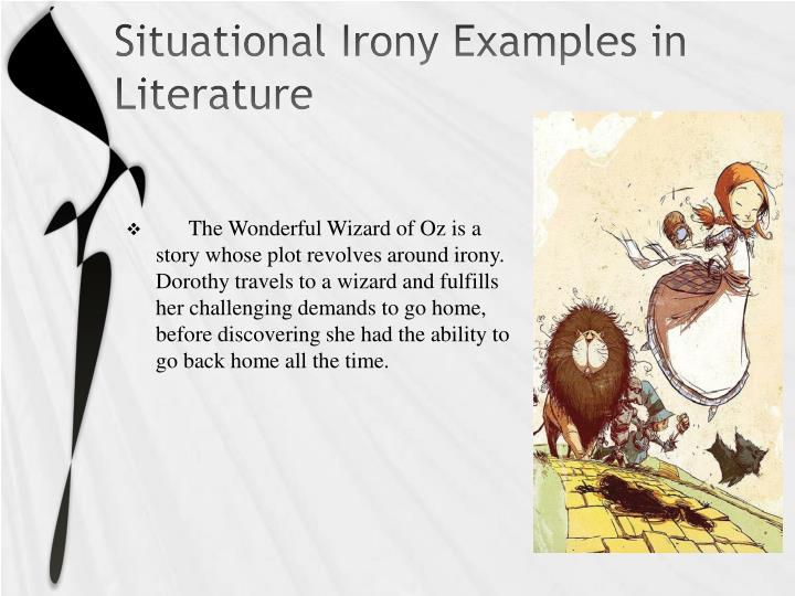 cosmic irony examples in literature