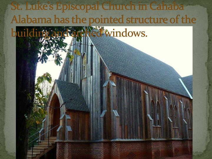 St. Luke's Episcopal Church in Cahaba Alabama