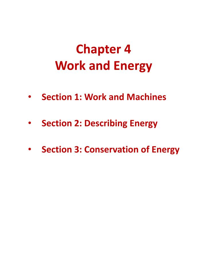 chapter 4 work and energy n.