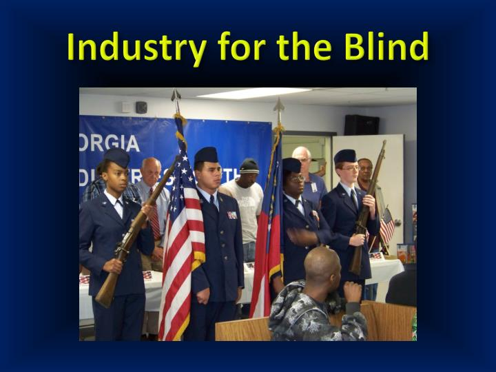 Industry for the Blind