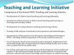 teaching and learning initiative1