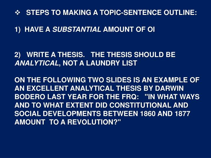what is the function of the thesis or thesis statement in a research paper