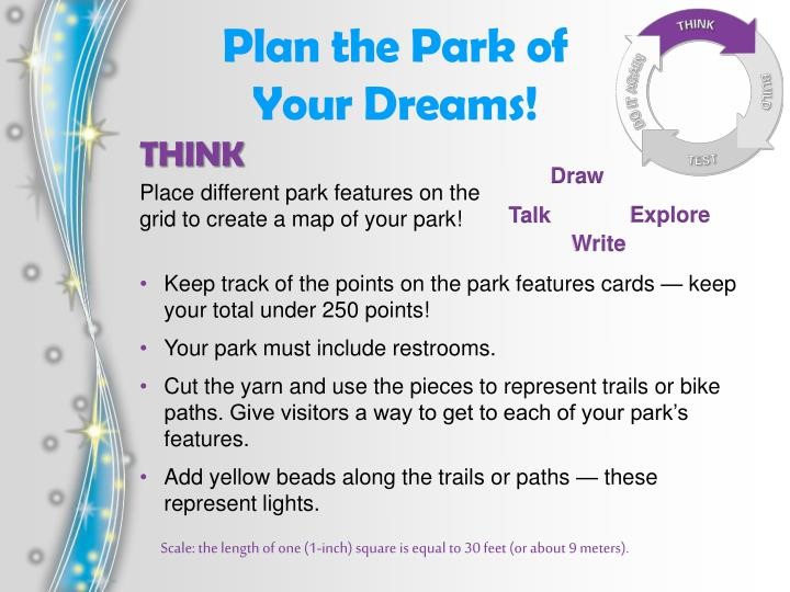 Plan the Park of Your Dreams!