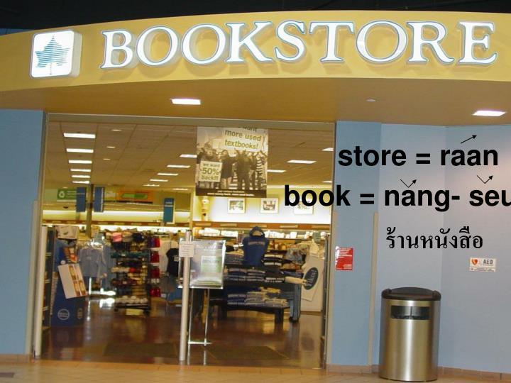 store = raan