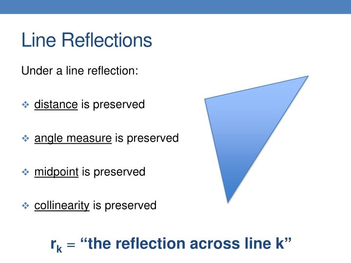 Line Reflections