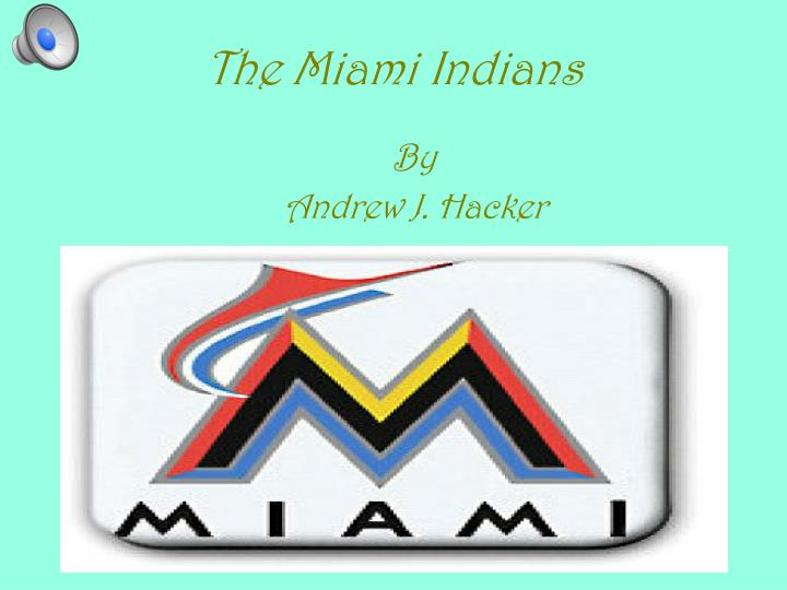 the miami indians n.