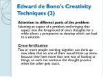 edward de bono s creativity techniques 2