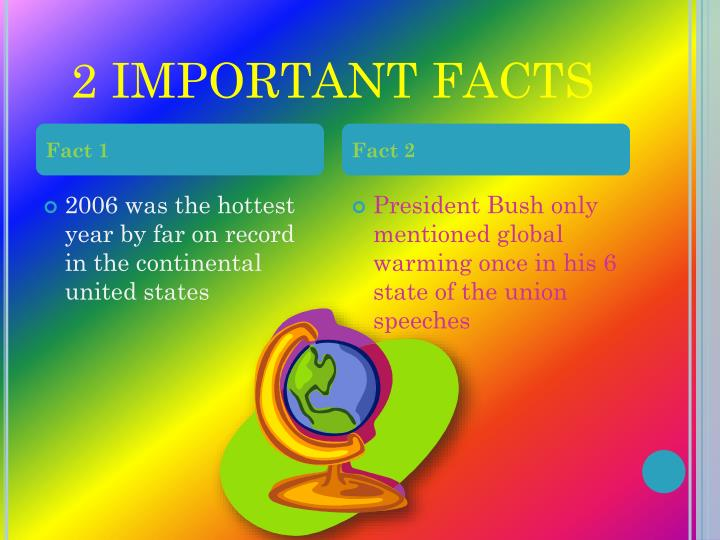 2 IMPORTANT FACTS