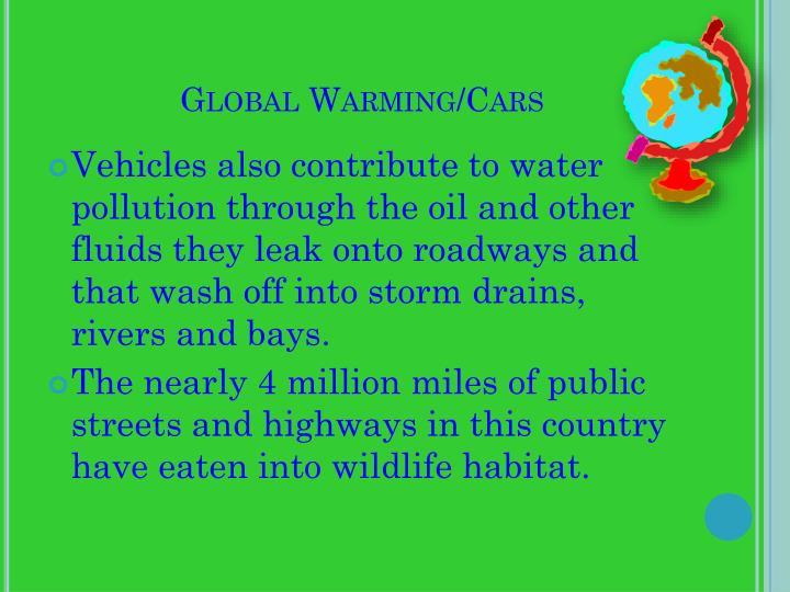 Global Warming/Cars