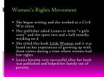 women s rights movement1