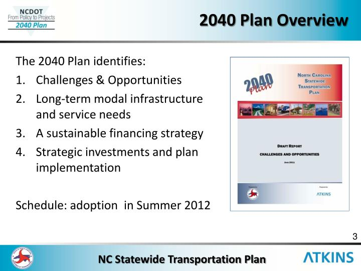 2040 plan overview