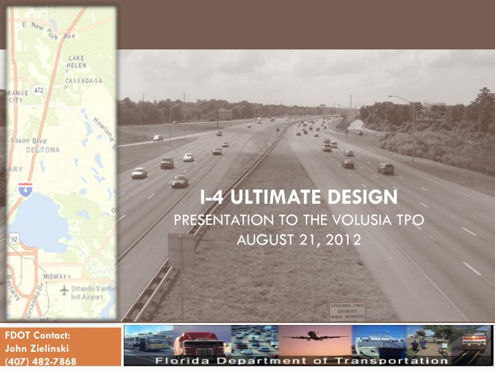 i 4 ultimate design presentation to the volusia tpo august 21 2012 n.