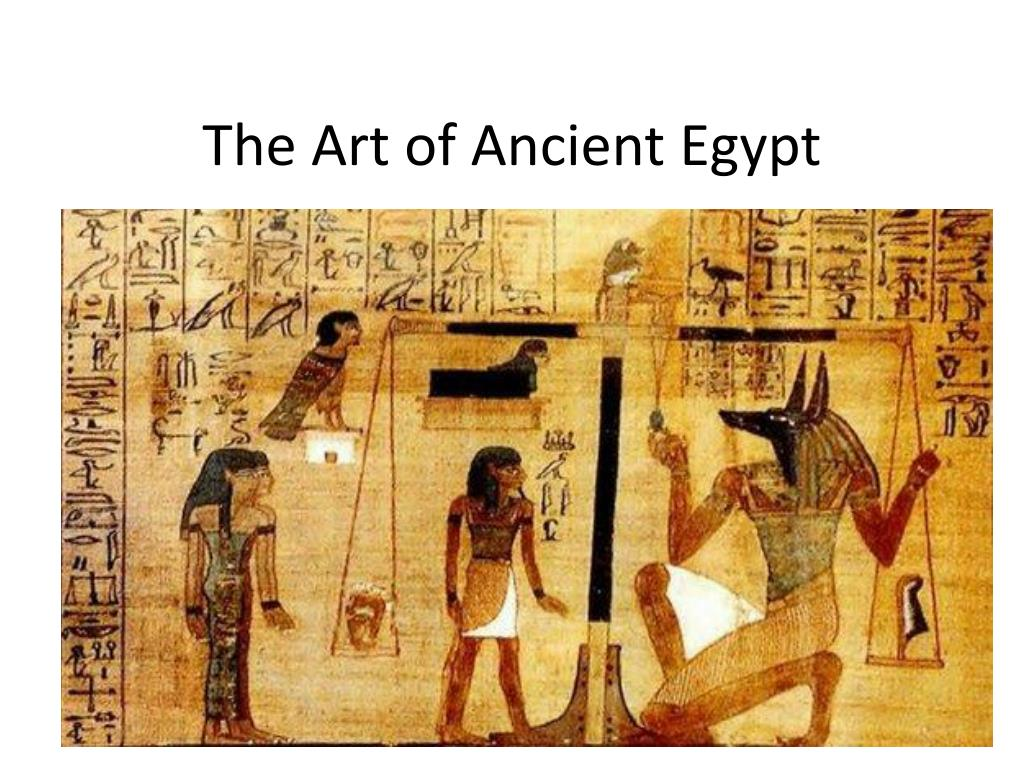 ppt the art of ancient egypt powerpoint presentation id 2488987