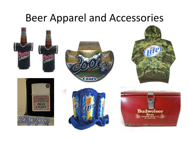 Beer Apparel and Accessories