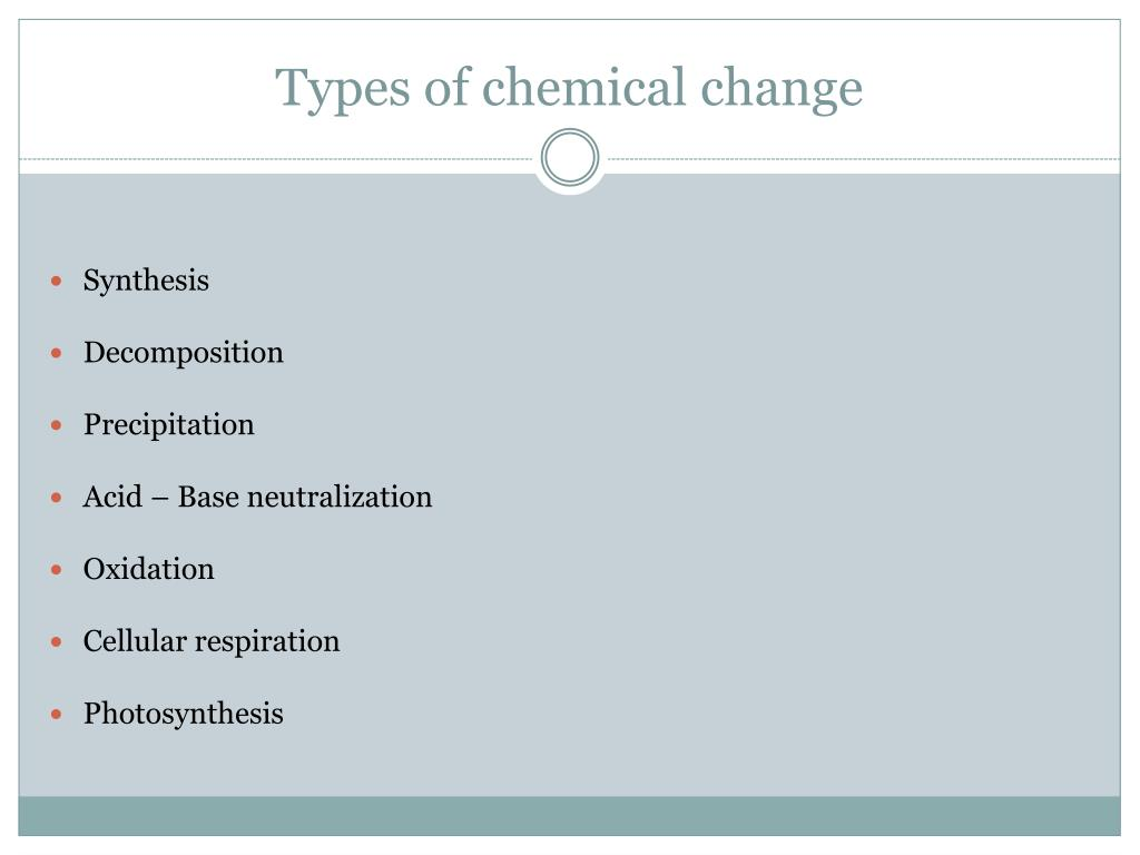 PPT - Changes in matter PowerPoint Presentation, free ...