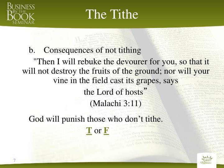 The Tithe