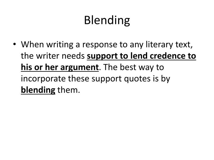 Ppt Quote Blending Powerpoint Presentation Id2490068