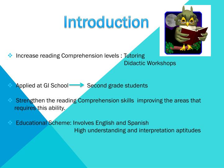 enhancing reading comprehension skills How to increase reading comprehension skills in adults we all know that improving reading skills will reduce unessential reading time and enable us to read in a more focused and selective way also, you can improve the current levels of concentration and understanding.