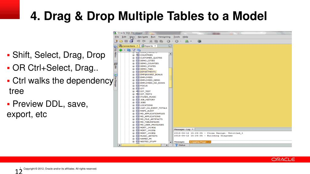 PPT - Oracle SQL Developer Tips & Tricks PowerPoint Presentation, free  download - ID:2490269