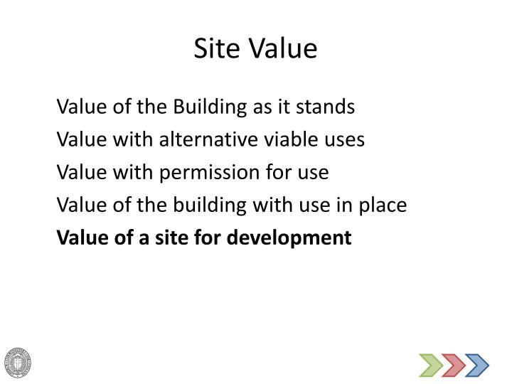 Site Value