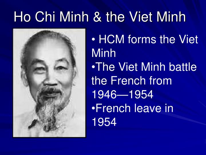 HCM forms the Viet Minh