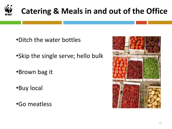 Catering & Meals in and out of the Office
