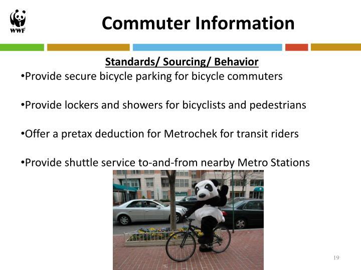 Commuter Information