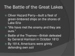 the battle of the great lakes