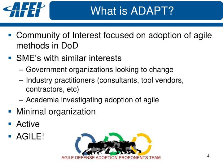 What is ADAPT?
