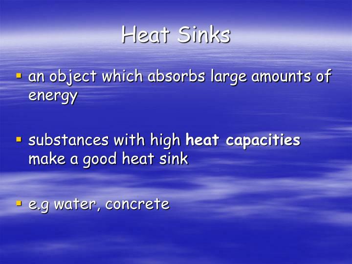 Heat Sinks