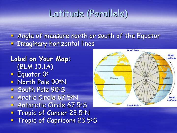 Latitude (Parallels)