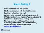 speed dating 2