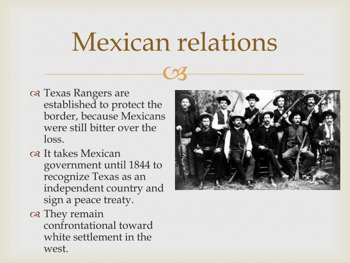 Mexican relations