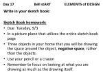 day 17 bell start elements of design