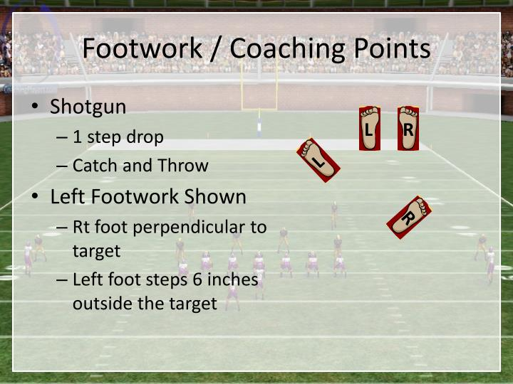 Footwork / Coaching Points