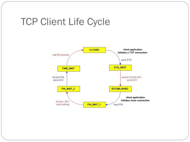 TCP Client Life Cycle