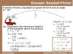 example baseball pitcher